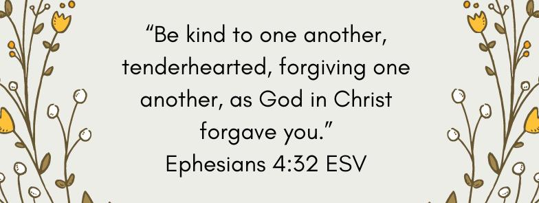 Ephesians 4:32 Nice or Kind? blessedbrownwren.com